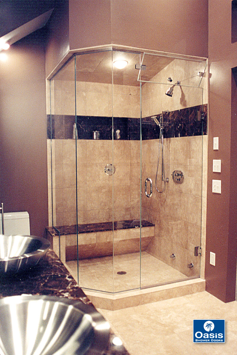 Oasis tub shower glass doors - Steam Shower Enclosures