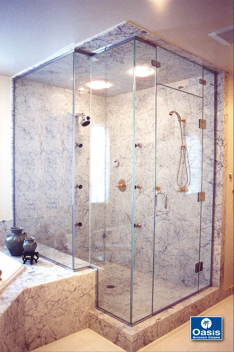Frameless Glass Shower Doors Oasis Shower Doors Boston Ma