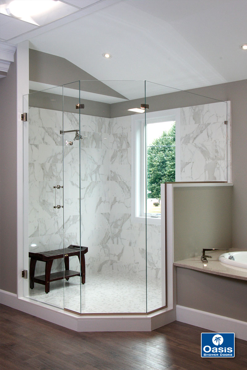 Custom Shower Enclosures - Oasis Shower Doors