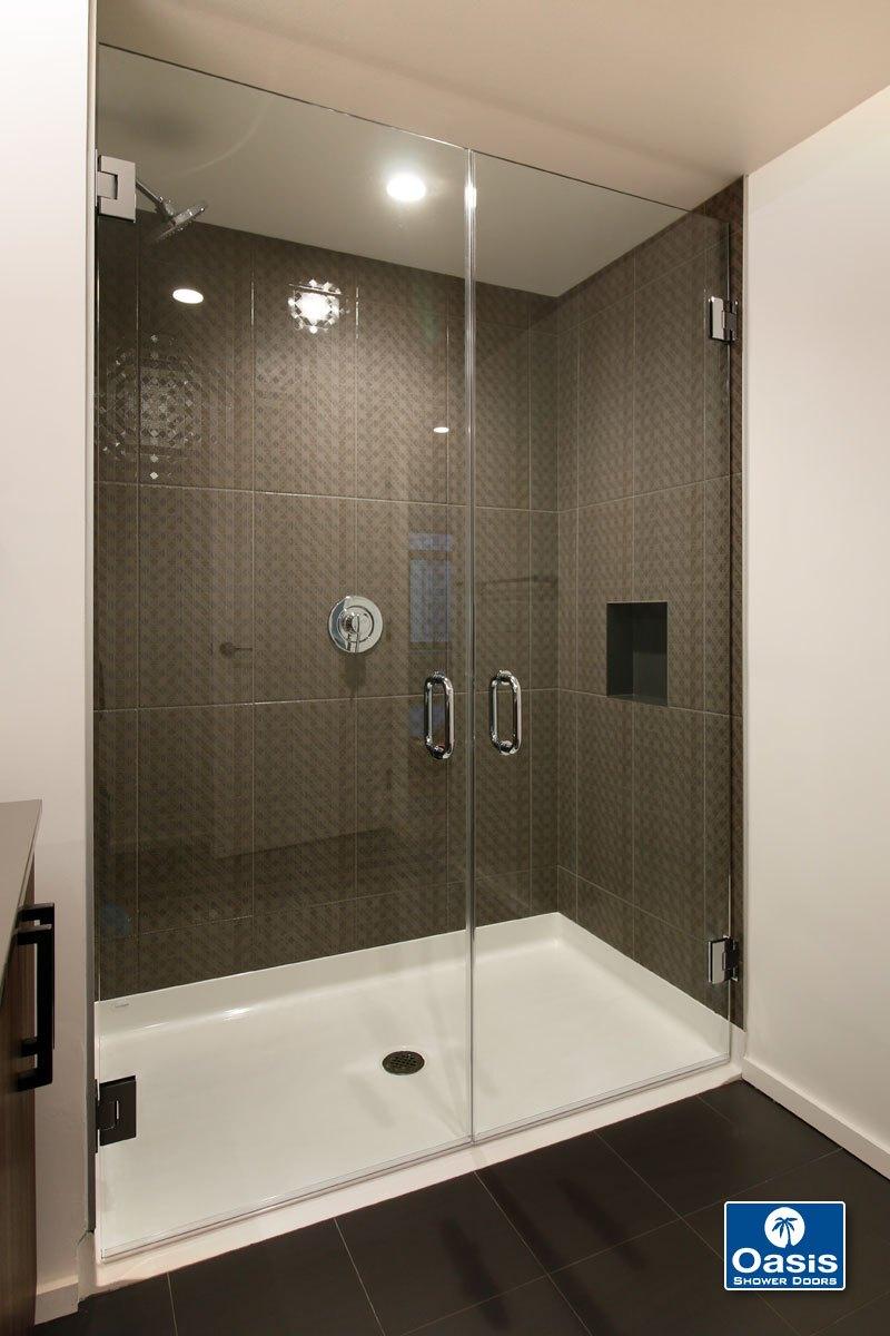 Frameless Shower Doors & Panels | Oasis Shower Doors MA, CT