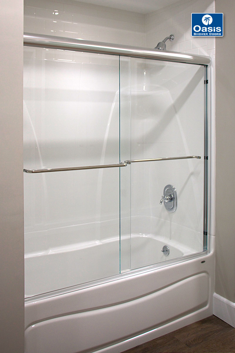 ... Tub-bypass ... & Frameless By-Pass \u0026 Sliding Shower Doors | Oasis Shower Doors ...