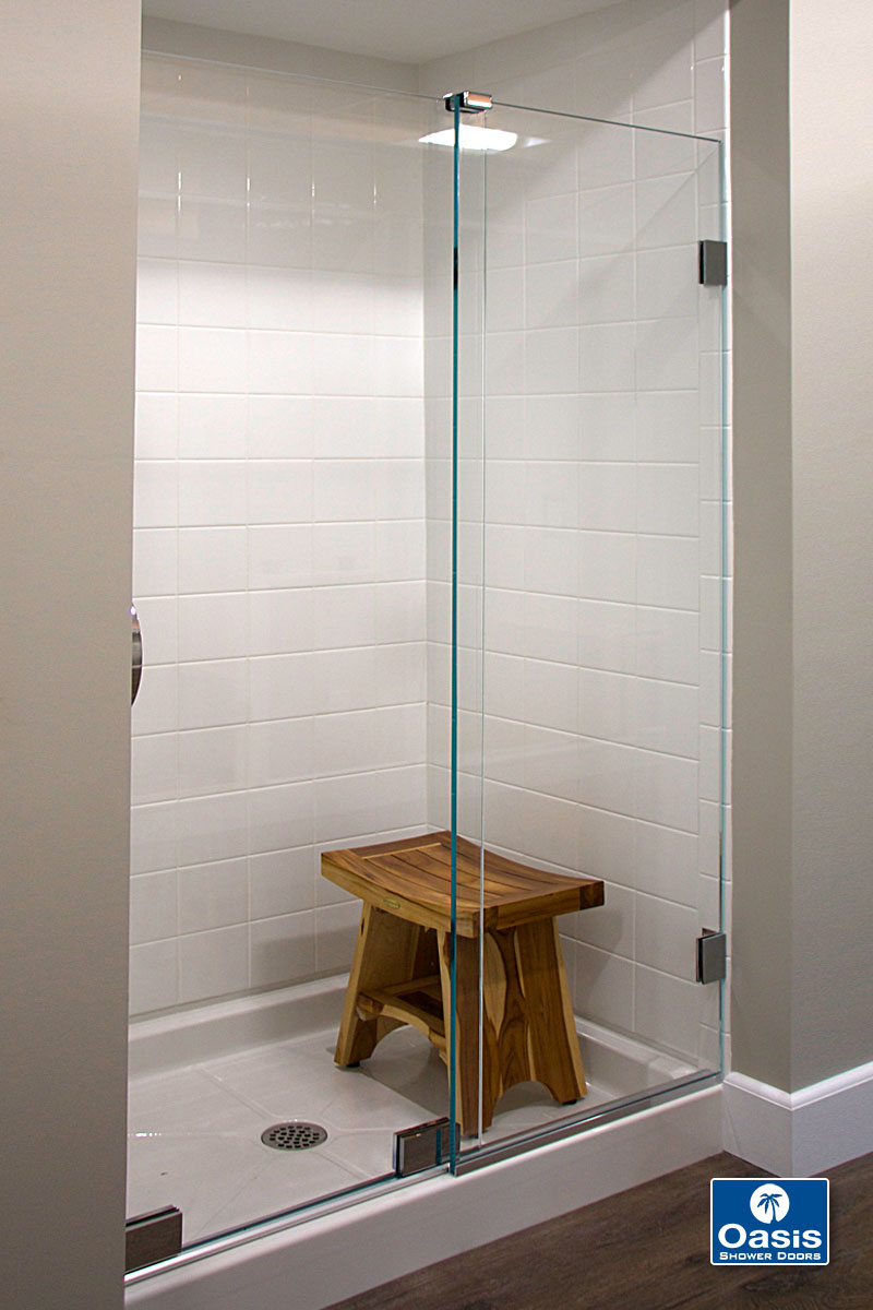 Frameless By Pass Sliding Shower Doors Oasis Shower Doors