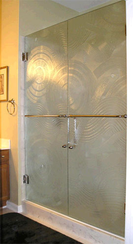 Frameless Shower Door Glass Types Oasis Shower Doors Ma