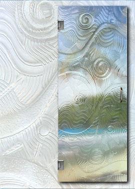 Shower Door shower door glass types : Frameless Shower Door Glass Types | Oasis Shower Doors MA, CT, VT, NH
