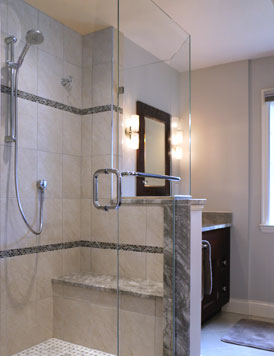 Custom Shower Enclosures Frameless Door