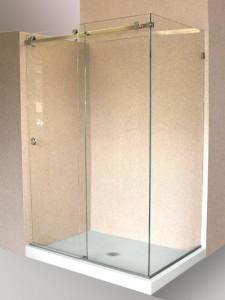 The Latest Innovation in Sliding Shower Door Design